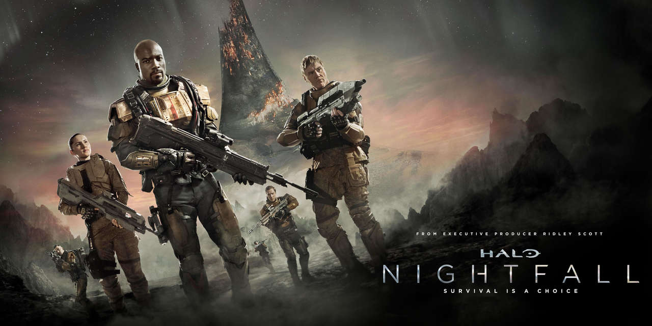 Halo Nightfall 2014 Showtime