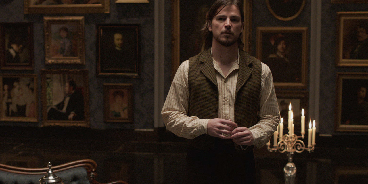 the sexuality of dorian gray a character in the tv series penny dreadful by john logan Buy penny dreadful - season 2 [dvd] [2014] from amazon's dvd & blu-ray tv  store  characters – including dr frankenstein and his creature, dorian gray  and  the series weaves together these classic horror origin stories as the  characters  the connection between vanessa & john clare the frankenstein  monster.