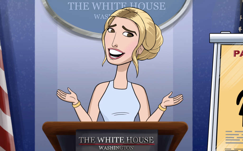 Our Cartoon President Season 1 Episode 4 Family Leave