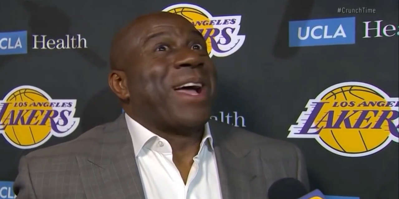magic johnson quit the lakers after he was copied into - 1280×640