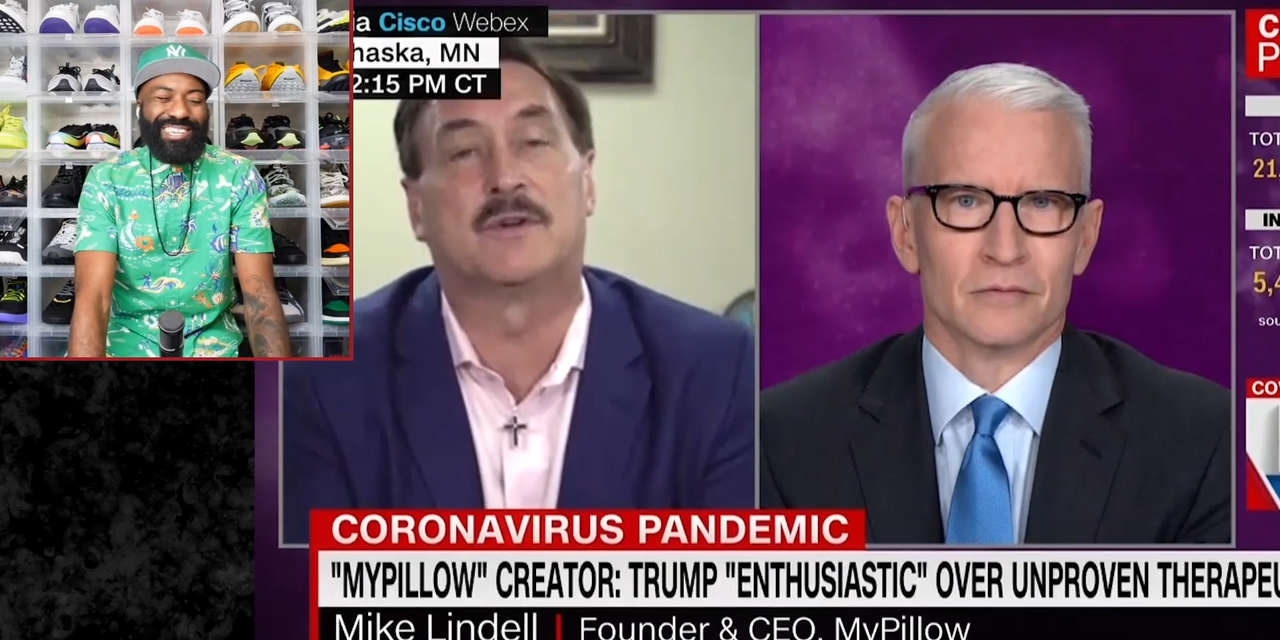 Desus Mero My Pillow Guy Claims He Has Covid 19 Cure Showtime