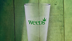 Weeds Logo Pint Glass