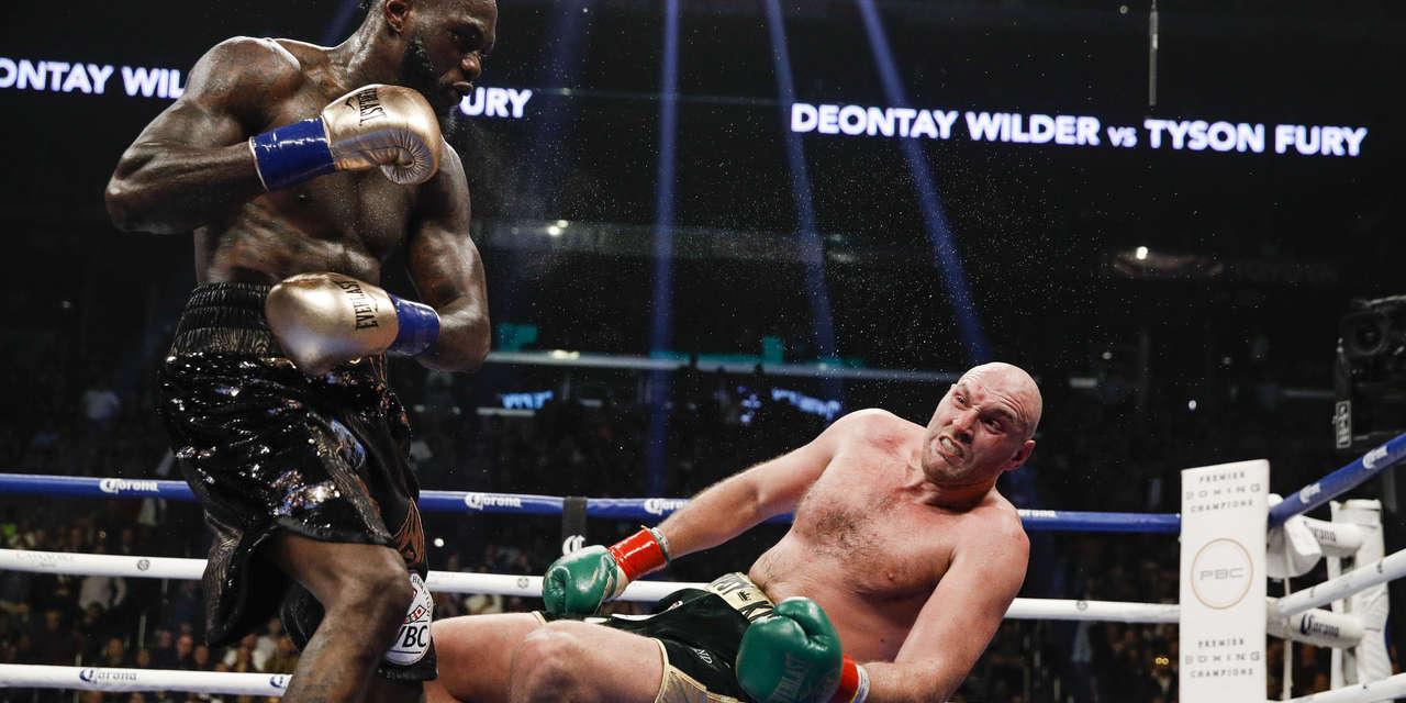 Resultado de imagen para wilder - fury Knockdown